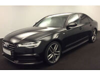 Black AUDI A6 SPORTBACK 2.0 3.0 TDI Diesel BLACK EDITION FROM £109 PER WEEK!