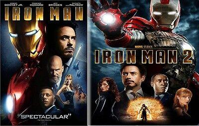 Iron Man 2 Pack: Iron Man & Iron Man 2 Dvd Widescreen