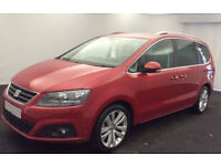 SEAT ALHAMBRA 2.0 TDI ECOMOTIVE S MPV SE LUXURY REFERENCE 7 FROM £103 PER WEEK!