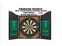 MVG TOUR DARTS CENTRE BLACK AND GREEN BRAND NEW BOXED