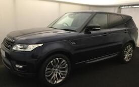 LAND ROVER R/R SPORT DARK SAPPHIRE 3.0 SDV6 DYNAMIC DIESEL FROM £200 PER WEEK!
