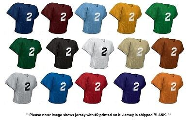 - Champro Poly Porthole Mesh Waist Length Football Practice Jersey, Youth or Adult