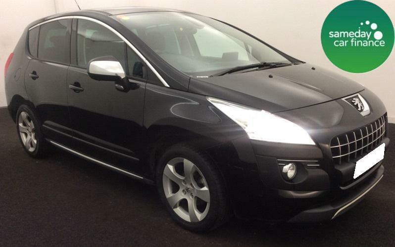 127.47 per month black 2011 peugeot 3008 1.6 vti exclusive 5 door