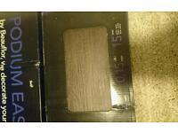 Self adhesive vinyl flooring dark wood