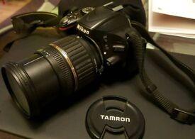 DSLR Nikon D5100 16.2MP plus TAMRON AF 17-50mm plus 16GB SD RRP: £1000 VGC