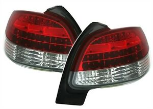 LUCES-TRASERAS-AR-LED-BLANCO-ROJO-M-PEUGEOT-206-1998-2007-GENERATION-1-4-HDI