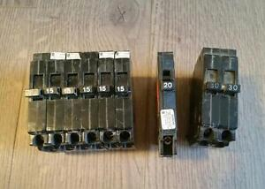 Blue Line Electrical Breakers 15a 20a 30a