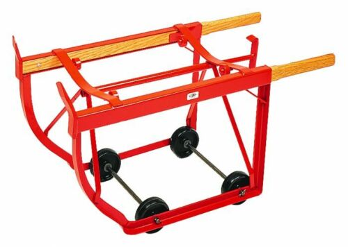MECO W12P 55 GALLON DRUM CART DOLLY STAND METAL BARREL TRUCK CRADLE DISPENSER