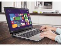 Toshiba L50 15.6 Inch AMD 1.8GHz 8GB 1TB Windows 8.1 Laptop - Black