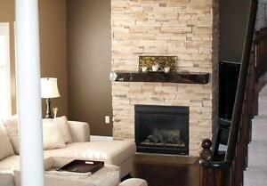 STONE VENEER, FIREPLACE STONE, MANUFACTURED STONE,CULTURED STONE
