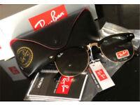 5e7029f8b60e RayBan Clubmaster sunglasses (Brand New)