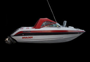 Super Deal! 22' INVADER Marine V204 Virada 1992, Inboard - Cuddy