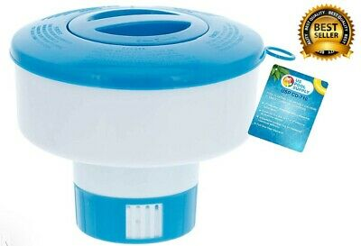 """New Pool Supply Collapsible Chlorine 3"""" Tablet Chemical Dispenser Adjustable"""