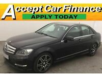 Mercedes-Benz C220 2.1CDI ( 168bhp ) Blue F FROM £77 PER WEEK.