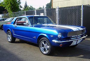 66 mustang Alabama rust free project 80% complete