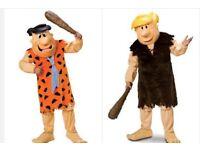 Fred & Barney mascot costumes