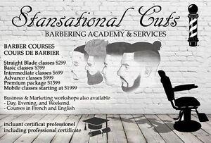 BARBER SCHOOL - ECOLE DE BARBIER - STARTING AT $399 West Island Greater Montréal image 2