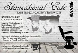 BECOME A PROFESSIONAL BARBER TODAY West Island Greater Montréal image 2