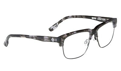 SPY Optic Dexter Prescription RX Eyeglasses in Steel Tort 573177418000