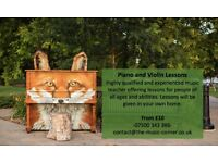 Piano and VIolin Lessons - West Bromwich - We'll Come to You! from £10