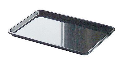 10X Black Plastic Tip Tray Plate Bill Presenter Bar Table Tips Restaurant Hotel