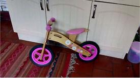 Wooden Kids Bike