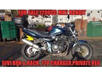 Mk2 1200cc Suzuki Bandit