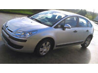 CITROEN C4 COOL HDI SILVER HATCHBACK in excellent condition MOT untill Feb 17