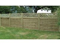 4 NEW KDM fence panels
