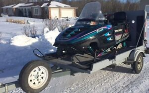 sled and custom trailer package