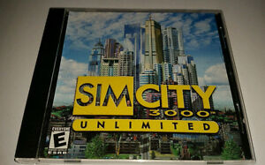 Sim City 3000 Unlimited - PC Game - Boxed , Jewel Case, Like New