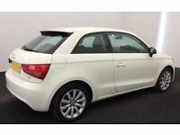 WHITE AUDI A1 1.6 2.0 TDI SPORT S LINE BLACK EDITION FROM £31 PER WEEK!