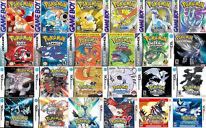 Looking for Nintendo DS *Pokemon* Games!