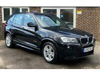 2012 BMW X3 2.0 20d M Sport xDrive 5dr SUV Diesel Manual