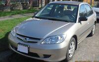 2004 Honda Civic DX-G Sedan