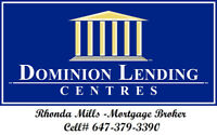 Mortgage Broker With Dominion Lending Centres