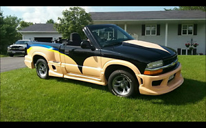 Custom Chevy S-10 Truck