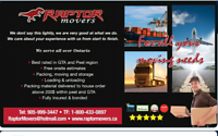 ⭐️Raptor Movers ⭐️ last minute specials for 20-27 ⭐️9059993447