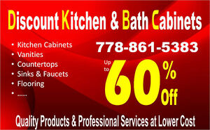 Lower Prices Kitchen Cabinets @ DKBC 778-861-5383.