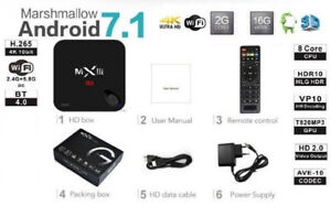 ●Android Box 7 TV IPTV ●S912 ●4K ●HD ●5GHZ WiFi ●2G+16GB ●8x CPU