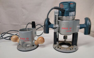 """Bosch 1/2"""" Router with Plunge and Fixed base"""