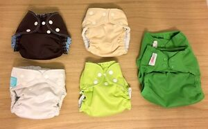 Small Lot of Cloth Diapers
