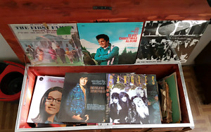 Lots of old records for sale