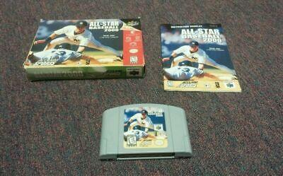 All-Star Baseball 2000 (Nintendo 64, 1999)