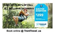 Trent Travel - SAVE UP TO 60 % ON FALL ALL INCLUSIVE PACKAGES