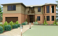 2129 sq.ft  Two-Story house plan >>> Plan # 09-0909