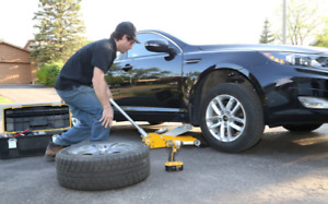 Winter Tires Change Over Service