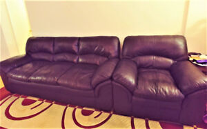Clean Sofa set for sale!! Cheap price (Negotiable)