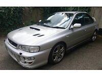 2001 SUBARU IMPREZA WRX TURBO 2000 STARTS AND DRIVES NO MOT BARGAIN CLASSIC PX