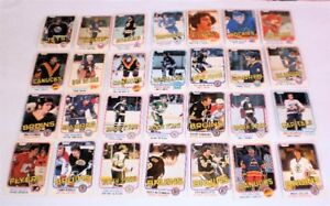 28  OPC Hockey Cards 1981-82